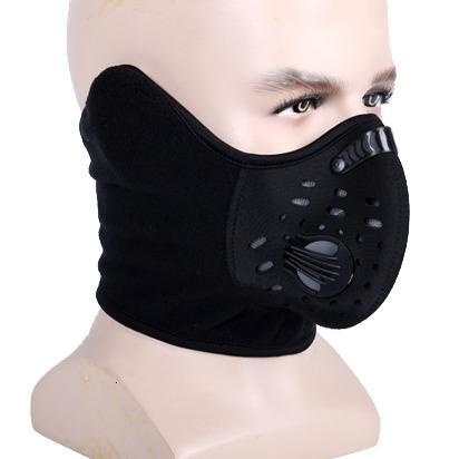 Zoyosports Sıcak Satış Yetişkin Kompakt Siyah Yükseklik 2.0 Windproof Neopren Sport Toz Maskesi