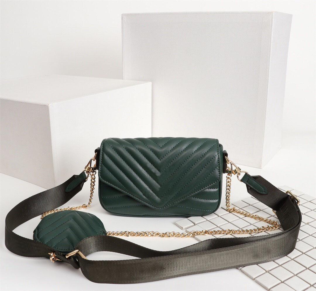 뜨거운 고품질 디자이너 럭셔리 핸드백 지갑 높은 품질 멀티 포 셰 슈 뉴 웨이브 숙 녀 체인 어깨 가방 크로스 바디 저녁 가방