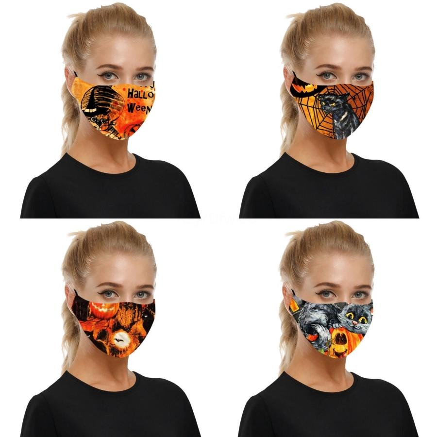 Designer-Gesichtsmaske Ice Silk Anti Staub Gesichtsabdeckung PM2.5 Staubdichtes Waschbar wiederverwendbare Baumwoll Masken Kid Gesichtsmasken mit Atemventil 300 # 470 Maske
