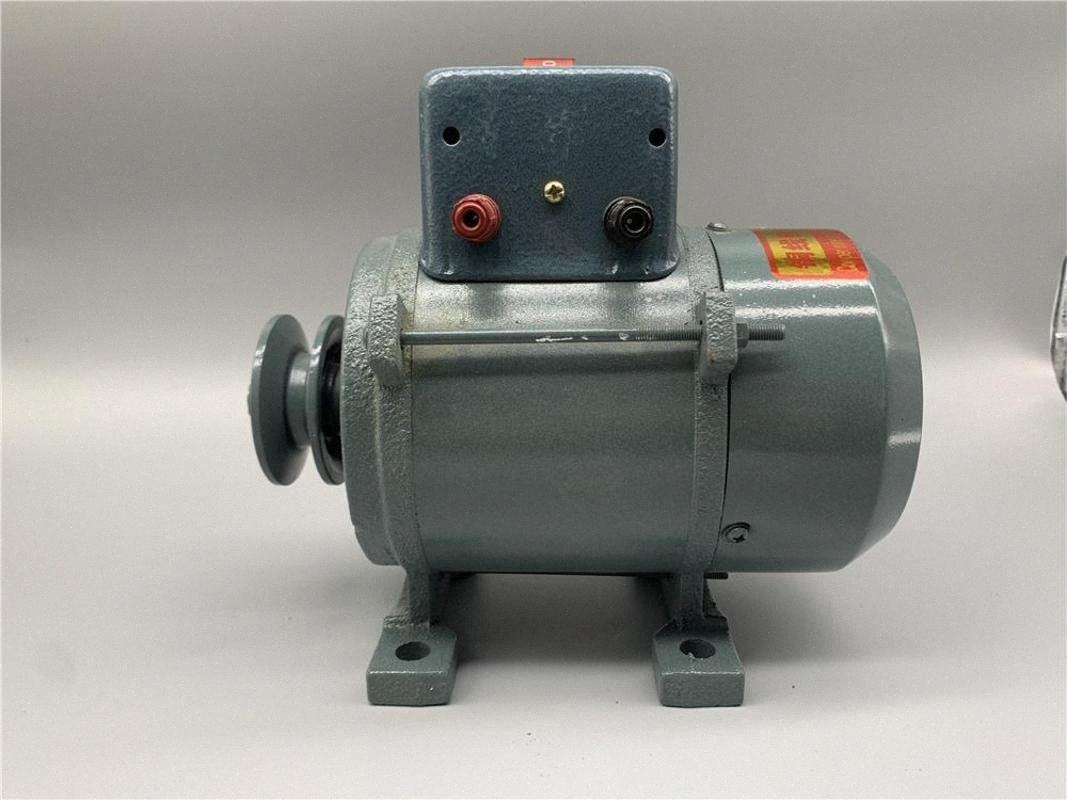 1000W/1800W Generator 220V High Power 3500W 5000W Small Pulley Type Permanent Magnet Lighting Generator DC cRLg#
