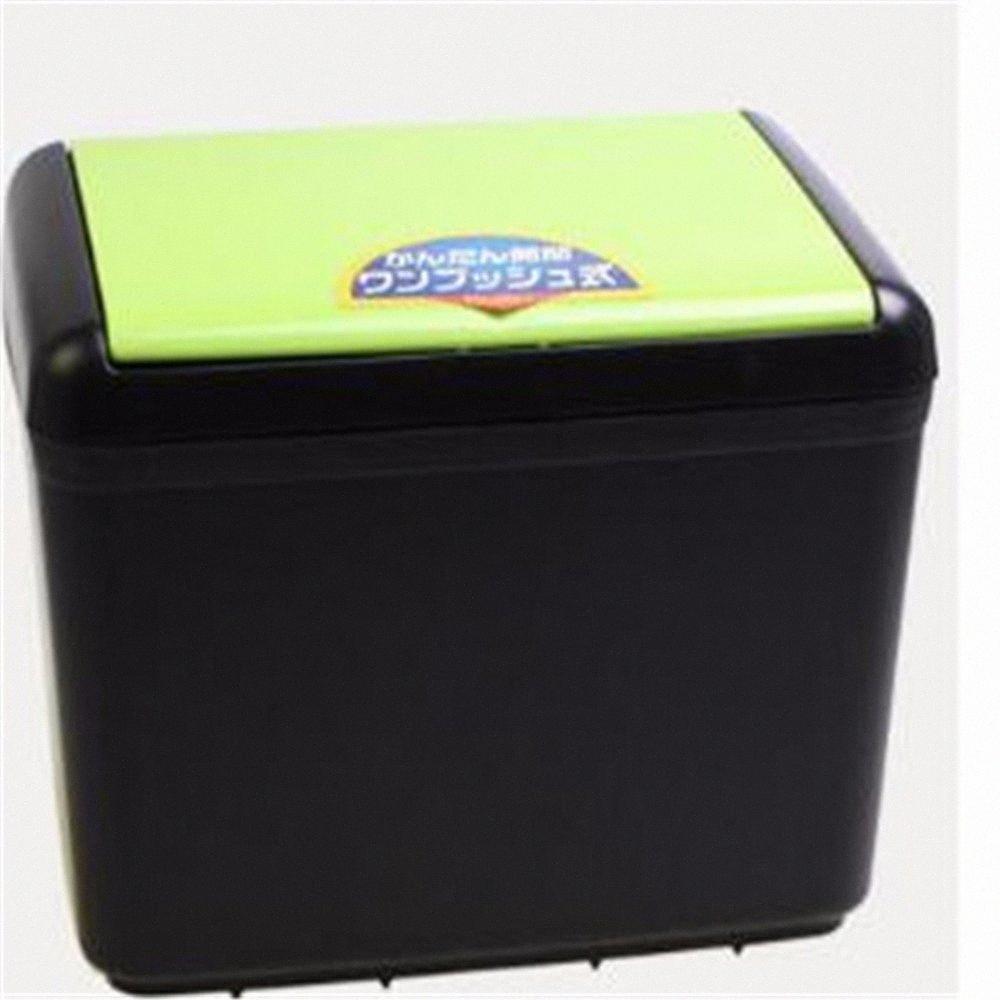 NUEVA basura coche cubo de basura del coche cubo de basura de polvo titular caso Bin auto-styling 0 pms#