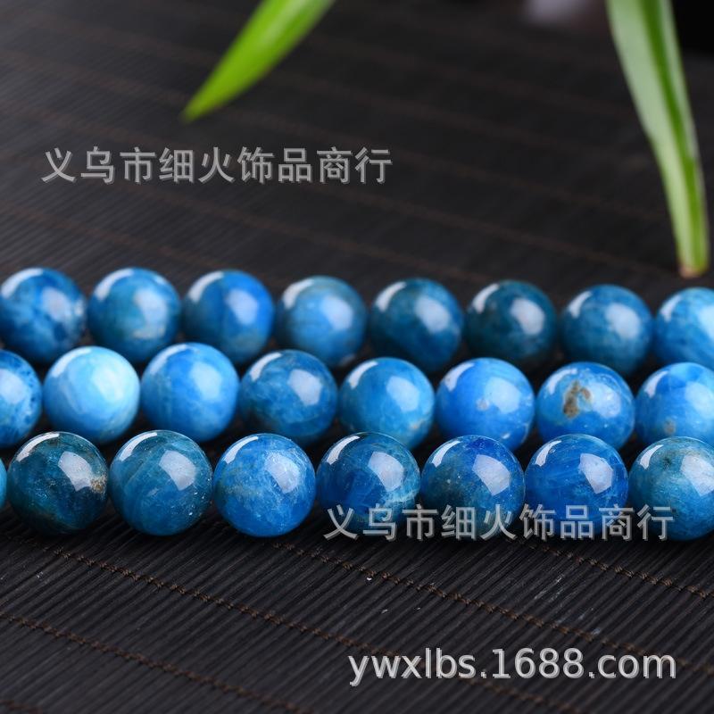 Apatite pierre ronde apatite perles en pierre naturelle de cristal rondes perles de cristal naturel
