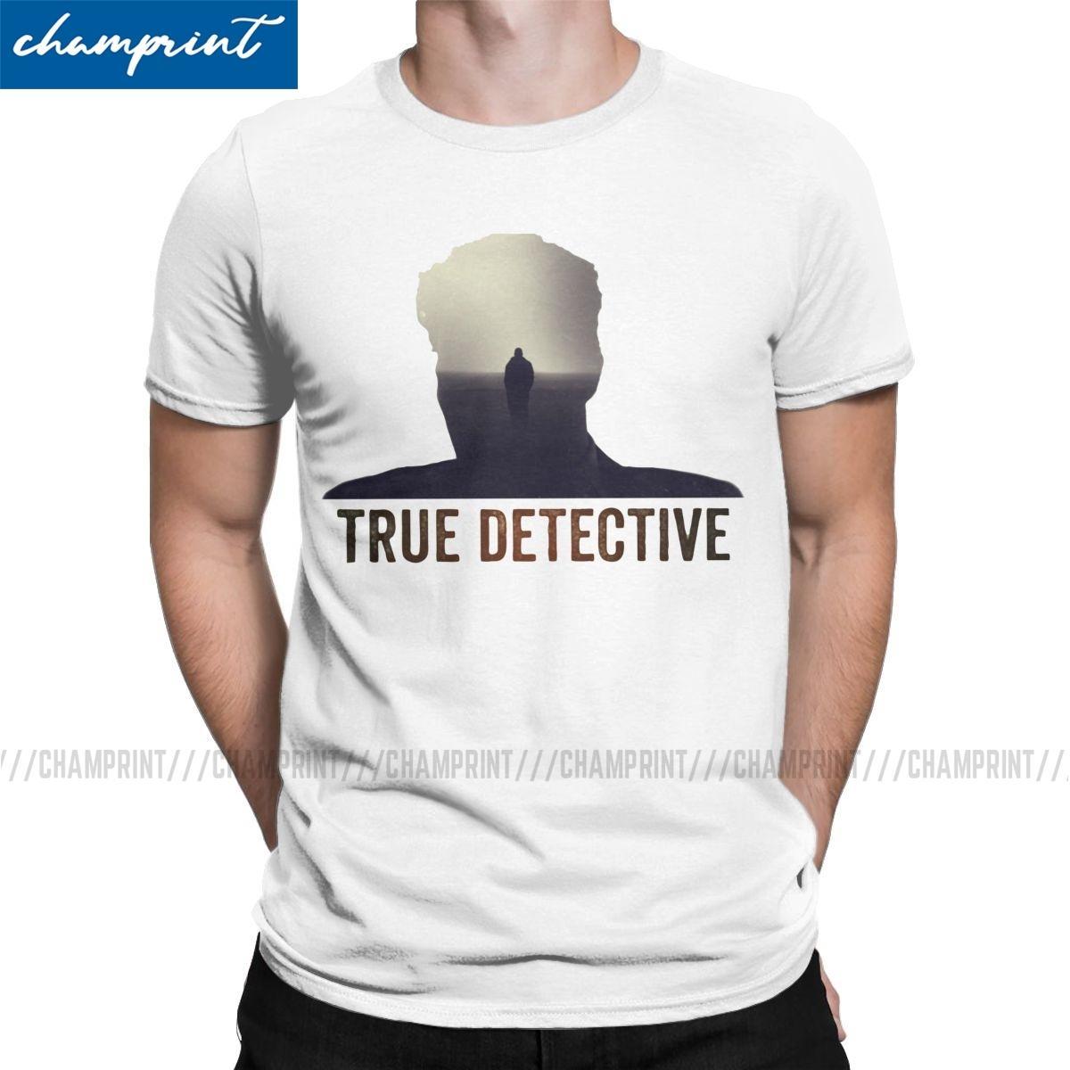 Acquista True Detective Uomini Magliette Rust Cohle Mcconaughey Serie TV  Vintage Tee Shirt Girocollo T Shirt Puro Cotone Delle Parti Superiori 6XL A  19,22 € Dal Yitianxing
