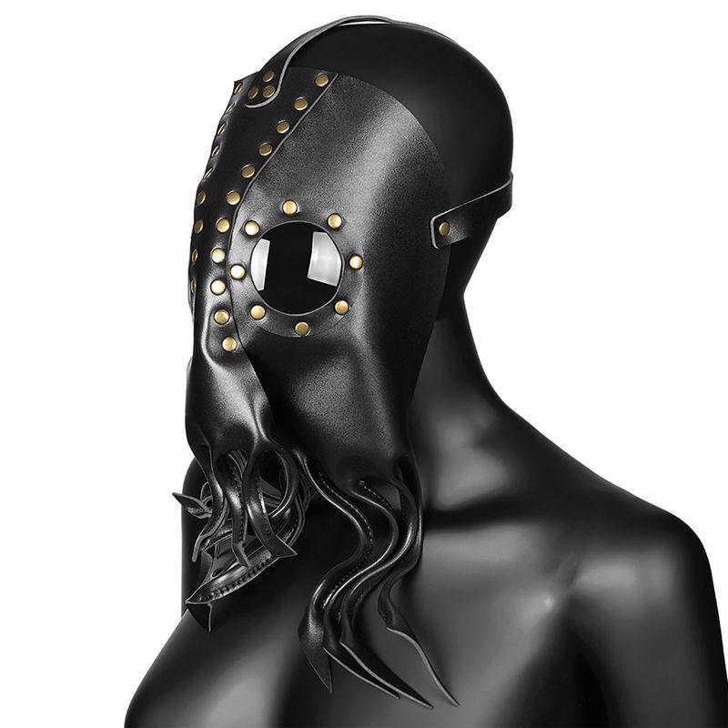 Steampunk الميكانيكية قناع الظلام الأخطبوط الطاعون طبيب الطيور قناع أقنعة ريترو تأثيري حلي هالوين الدعائم JK2009XB