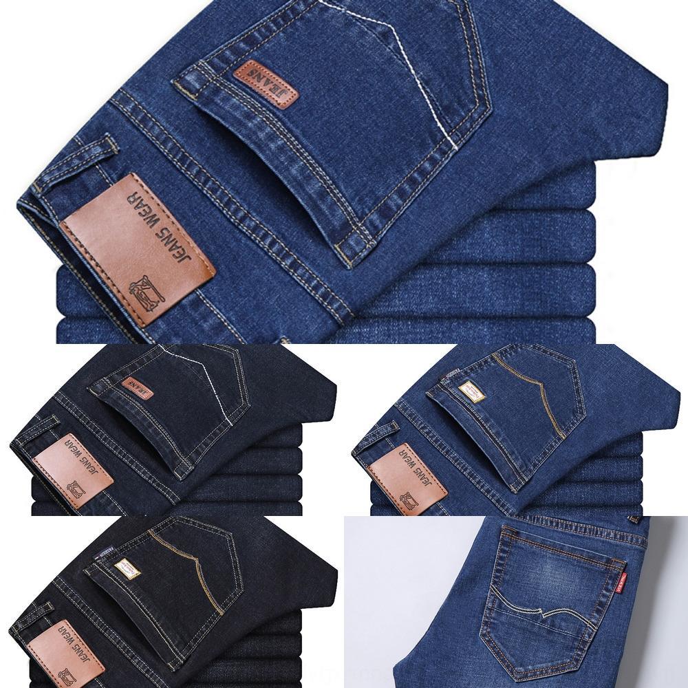 dritto giovanili tubo, jeans uomo autunno pantaloni e jeans larghi casuali pantaloni lunghi stile coreano sottile grandi affari dimensioni w8Ekz