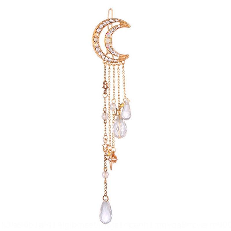 Nuovo cristallo accessori per capelli nappa stile coreano accessori clip di capelli di cristallo di diamante rana donne clip 6PbHY