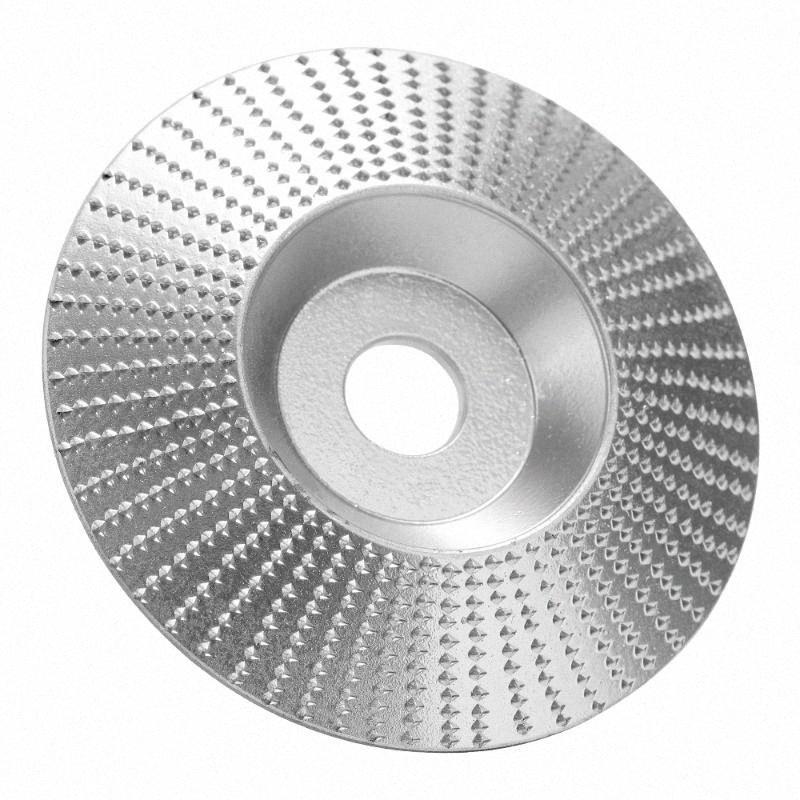 Rebarbadora madeira rebolo Disc escultura em madeira de lixamento abrasivo ferramenta para Angle Grinder Highcarbon Aço Shaping 5 / 8inch Bor hKzl #