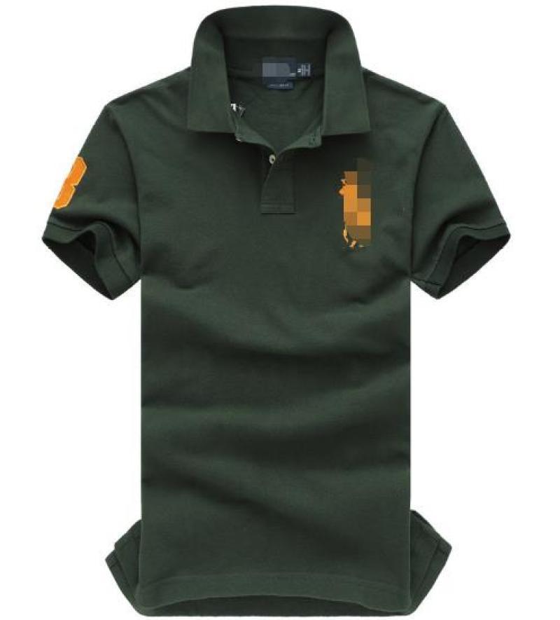 Verde scuro, il piacere delle Men In primavera e in autunno Render T-shirt con maniche corte 1836