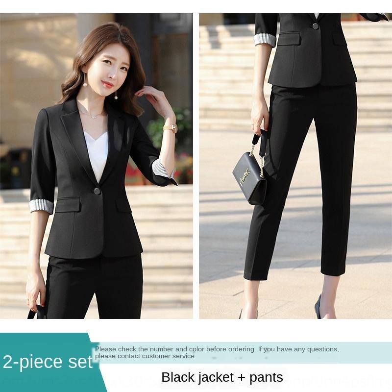 izLsE Интернет случайный маленький костюм для женщин куртки куртки 2020 Весна Корейских Нового костюма моды тонкой талия короткой знаменитость черного стиль