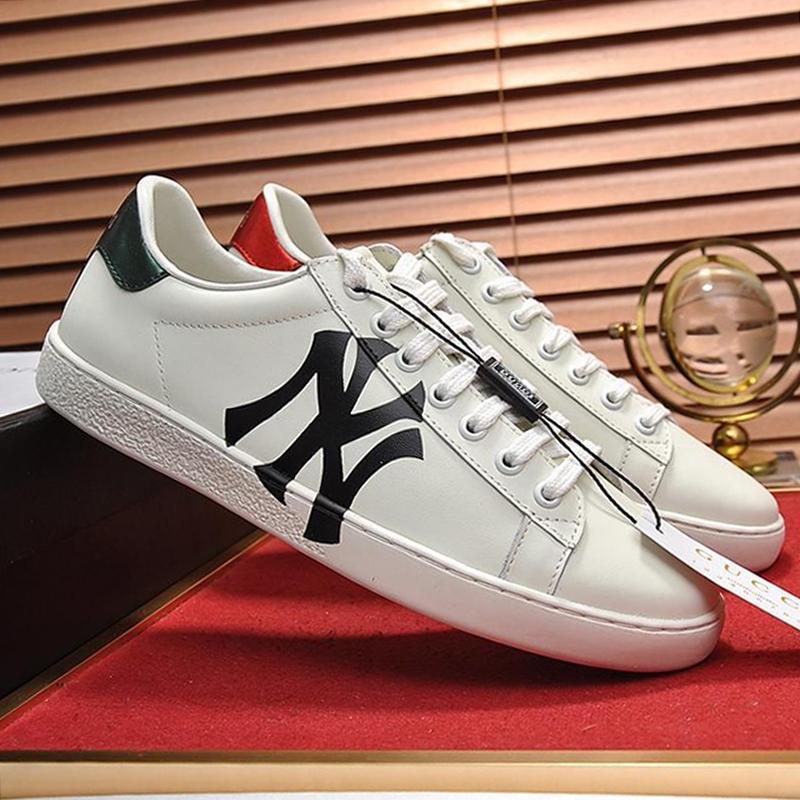 Drop Ship Mens Ace Sneaker Chaussures Hommes de luxe de haute qualité respirante Footwears Lace -Jusqu'à Taille Plus Casual Chaussures Hommes D Scarpe Sportive