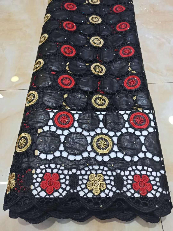 vendita caldo africano Bazin tessuti riche 2020 alta qualità bacino asciutto cotone merletto riche brode ricamo guinea tessuto broccato 5Y T200810