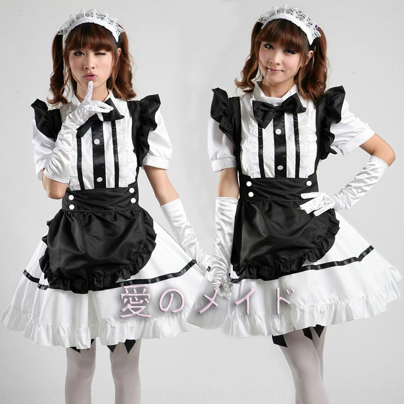 Barbie üniforma / üniforma / cosplaywomen kostüm Şirin Barbie Bebek sevimli hizmetçi üniforma / hizmetçi üniforma / cosplaywomen kostümünü bebek
