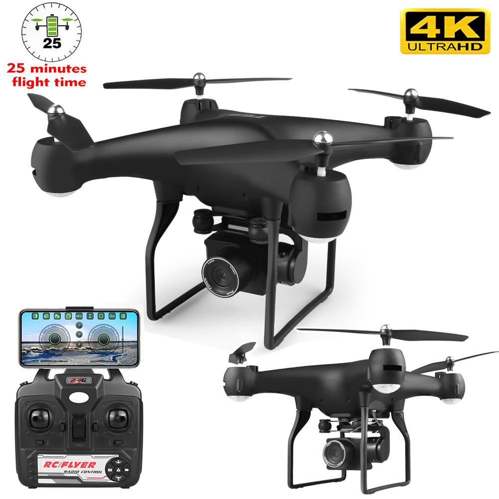 RC Drone HD Kamera Ile Uzaktan Kumanda Ekseni İHA 4 K HD Piksel Hava Drone Uçak Uzun Ömürlü Sonbahar Oyuncak Aosst