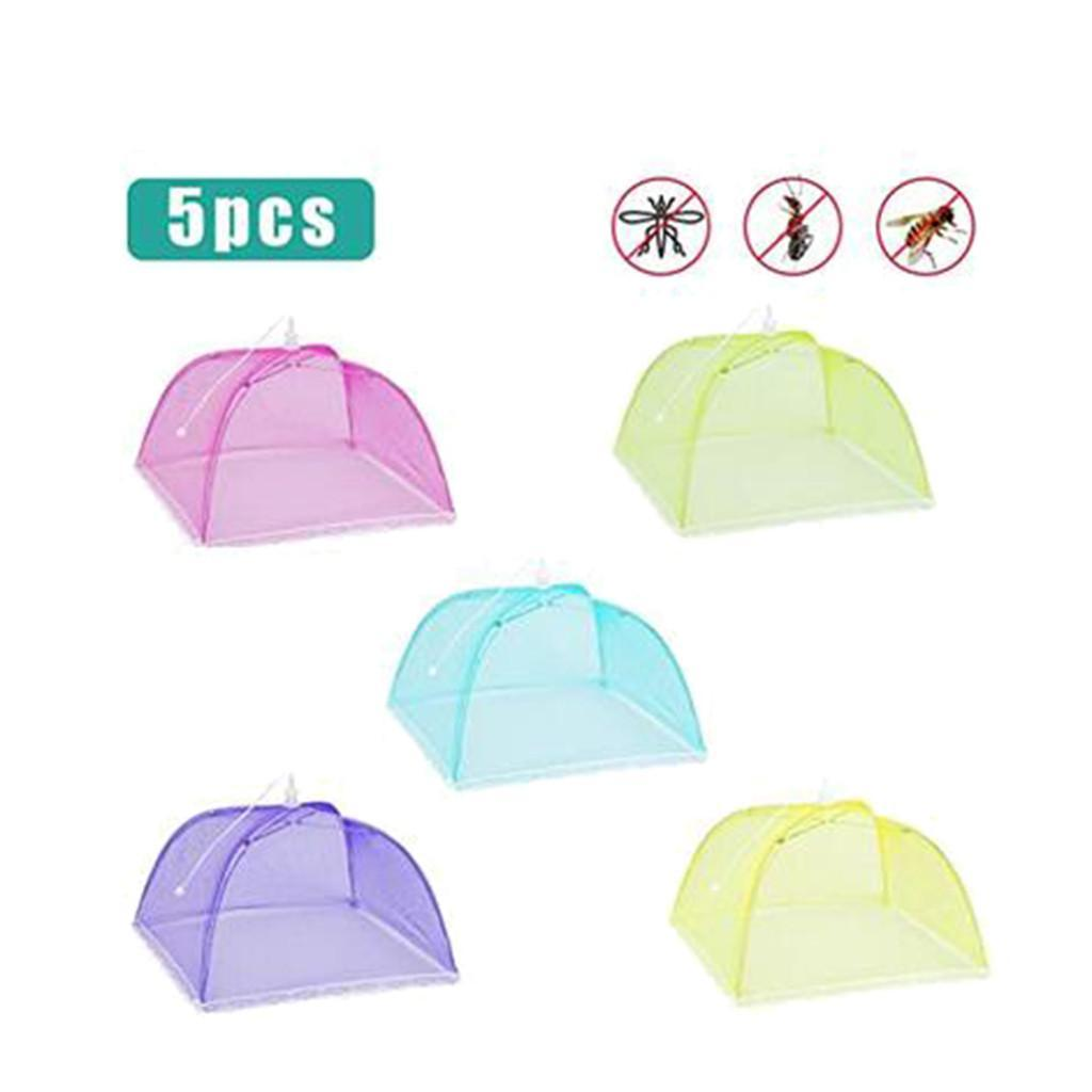 B18 Up Dome Cover Screen Nylon Protect 5pc Tent Tent Large Food Food Pop Cooking Fly Umbrella Net Mesh Food Cover Kitchen qylBOq allguy