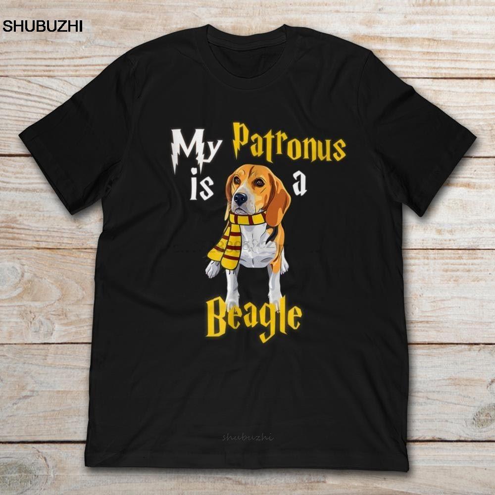 Marke My Patronus ist es, ein Beagle T-Shirt Männer kurzärmelige T-Shirt Baumwolle T-Shirt Mann-Sommer-Mode-T-Shirt Euro-Größe