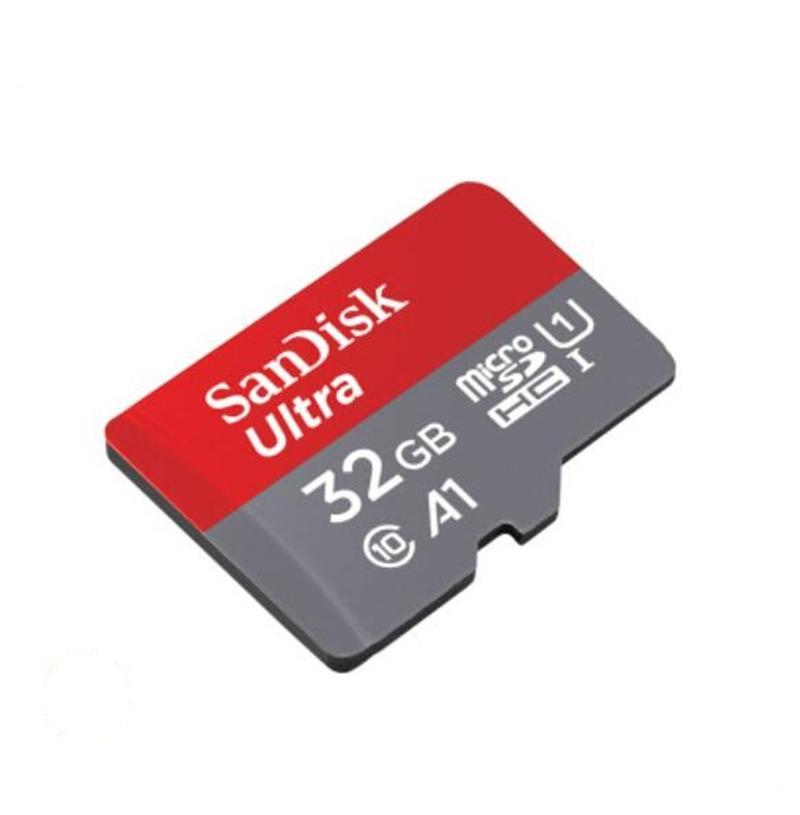 Newsandisk ULTRA A1 32GB 64GB 128 Go de téléphone intelligent micro micro caméra conduite enregistreur de carte haute vitesse SD TF Carte UHS-I C10 Card avec adaptateur