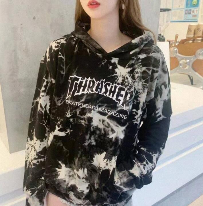 Diseñador de las mujeres Sudaderas Con Las Cartas Brand otoño suéter para las mujeres sudaderas Primavera de manga larga Mujer Tops Ropa tamaño M-2XL Optio MkJi #