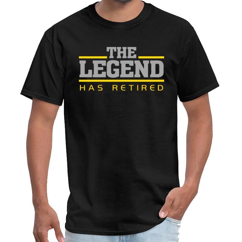 Design La légende veut enfant t-shirt chemise retraite slipknot longue grande taille Haut tee de ~ 5xL