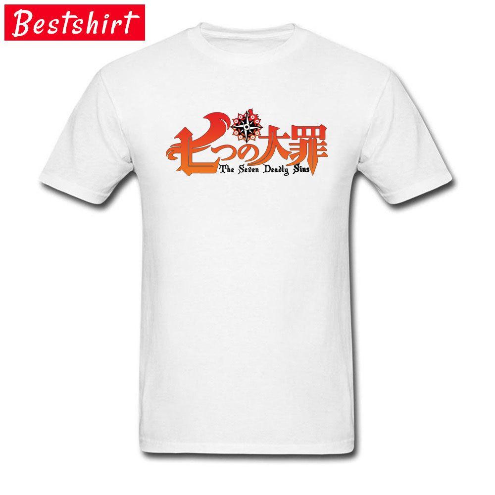 Prevalentes de los hombres de camisetas Top Seven Deadly Sins Logo Cazafantasmas Tees La Oficina de manga corta T Cosie Camisa básica animado Cine