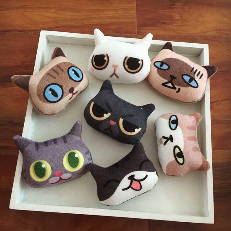 [MPK Store] Adorable Small Cat Toy, Catnip Pillow for Cats, Catnip Bolster