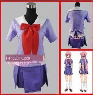 625 Youyou Engel Zukunft Tagebuch youyou Engel Uniform meine Frau ist eine neue Anime Cosplay Anzug für Cosplay Sommer Schuluniform