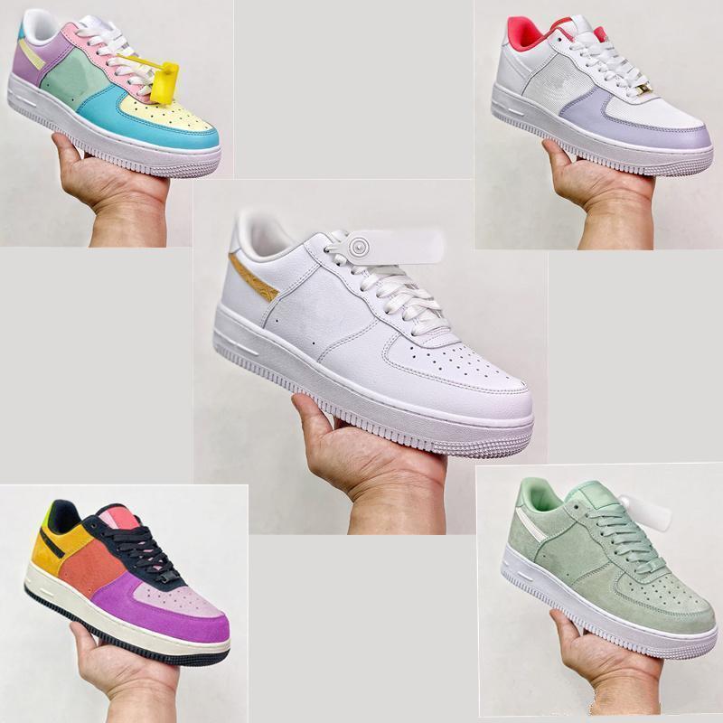 Vendita 2020 nuove donne scarpe da uomo moda moda casual in pelle scamosciata in pelle pizzo up tripler piattaforma Sole sneakers multi colore casual scarpe