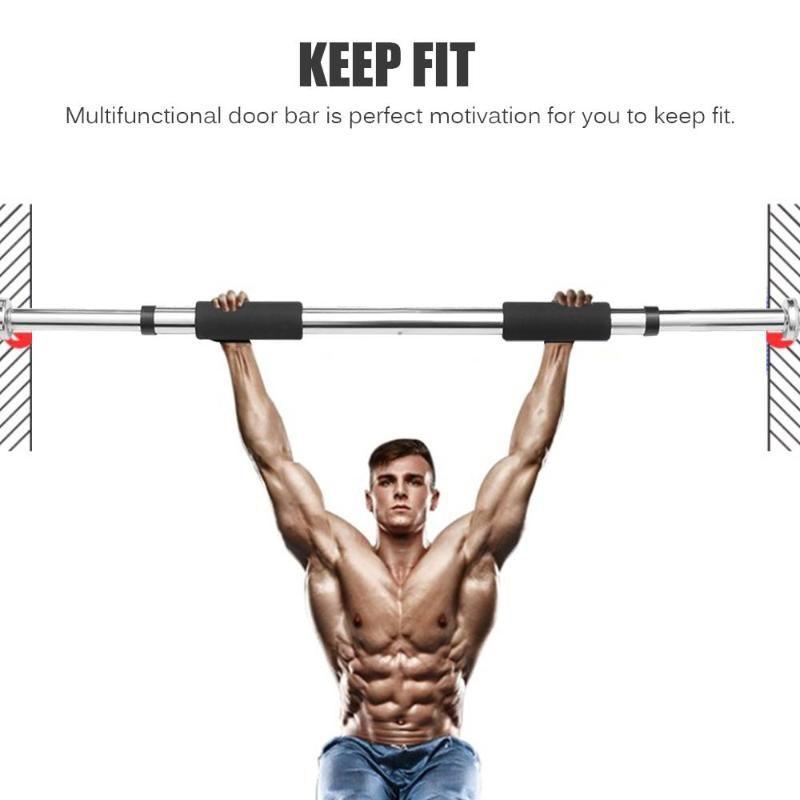 Pull-ups de la puerta horizontal barras de acero ajustable Fitness Equipment marco de puerta barra del levantamiento de formación aptitud del deporte pull-ups 100kg