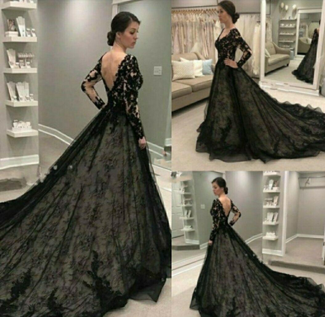 2021 elegante Spitze A-Line Abendkleider mit langen Ärmeln V-Ausschnitt Backless Arabisch Kaftan formalen Partei-Kleider Arabisch Abendkleid