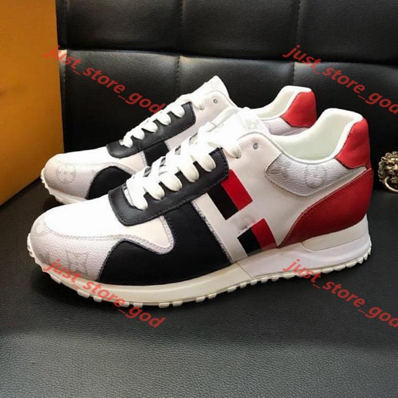 Louis Vuitton Neue Schuhe Fashion Leather Plus Run Away Sneaker Mode Schuhe für Männer mit ursprünglichem Kasten Runner Im Freien Chaussures gießen hommes