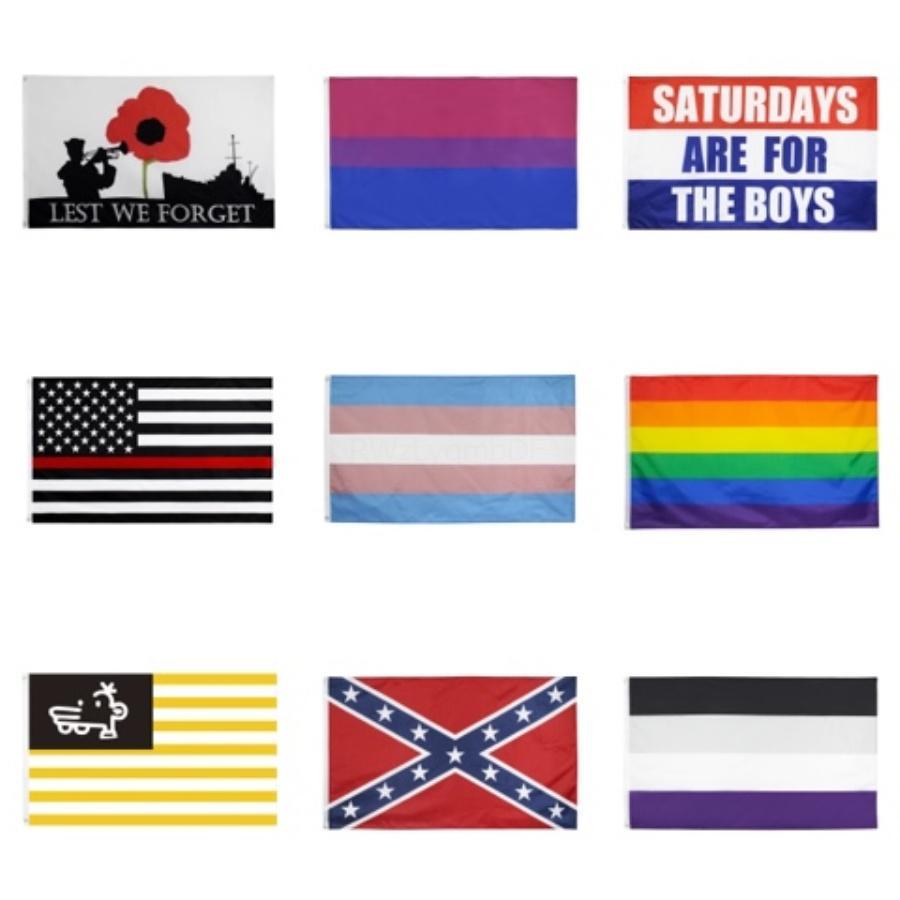 Bernie Sanders 2020 Flag Amerika Große Banner im Freien für Präsidentenwahl Hängen Dekorative Flagge 90 * 150CM # 429