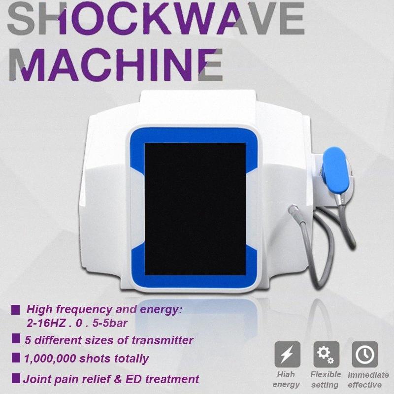 Venta caliente Choque Dolor de onda Alivio extracorpórea por onda de choque extracorpórea Máquina ED Terapia Mejorar Relajación muscular Equipo de belleza yiMH #