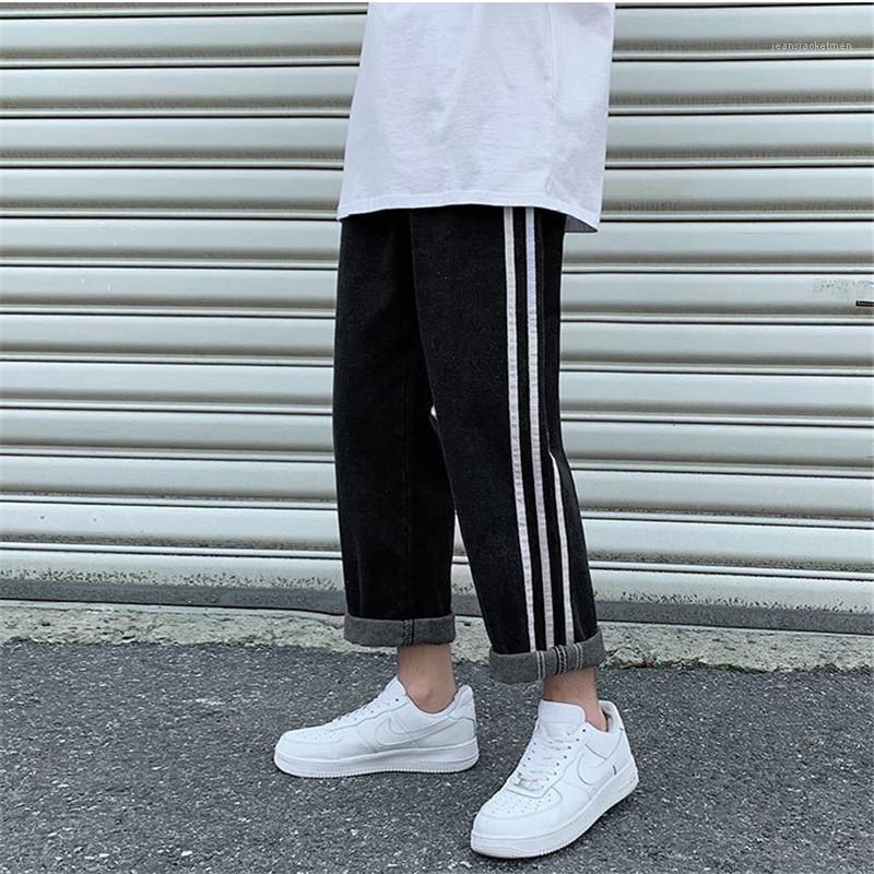 Pantalons Vêtements pour hommes Men Designer Jeans Mode en vrac tube droit sauvage jambe large été décontracté