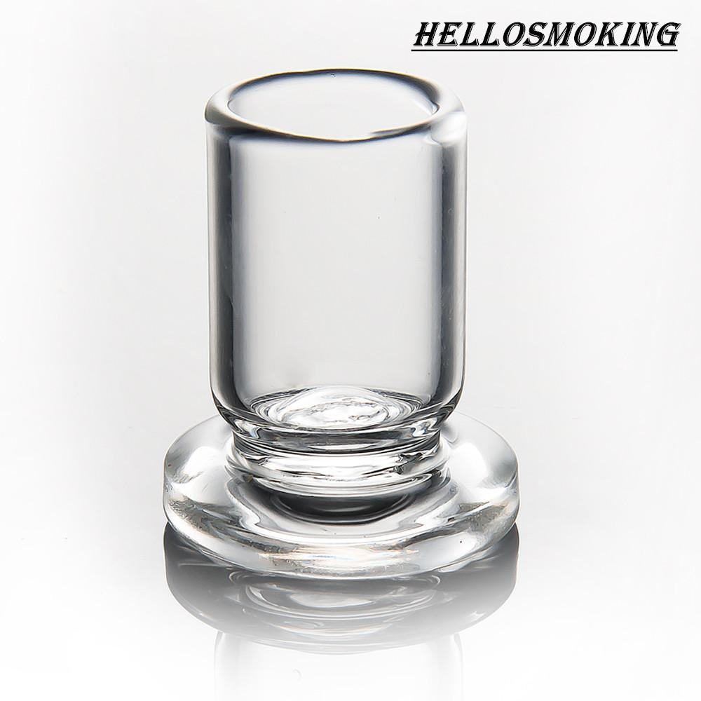 High Qulity Carb Cap Holder Thick Clear Glass stand OD 25mm stander for quartz carb cap dabber caps
