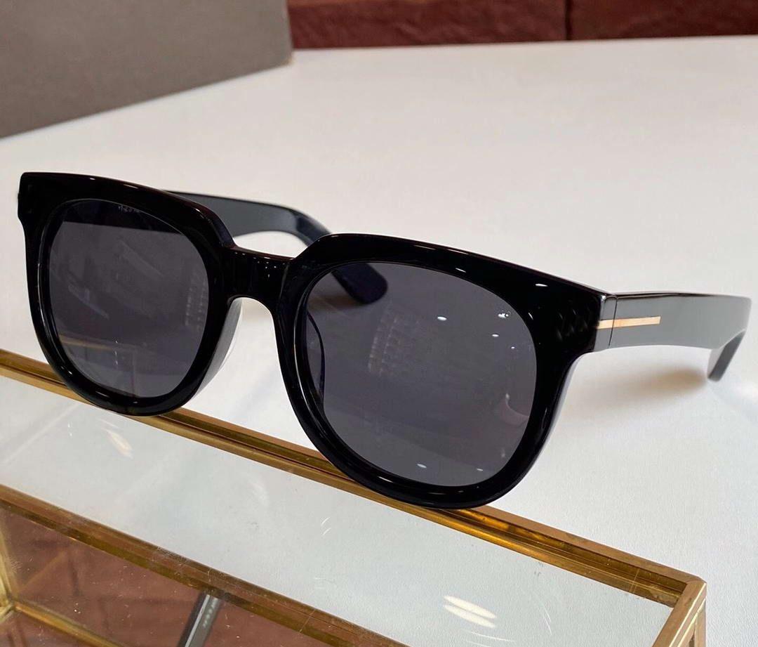 Hombres Negro / Verde con lentes 211 Calidad Gafas Gafas de sol Gafas de sol Top Box Sonnenbrille de Vintage Sol Omrjr