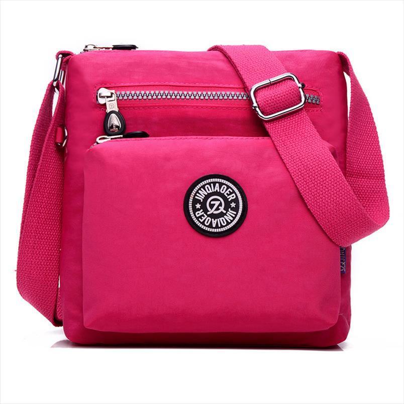 Hot Sale Handbag Mulheres Messenger Bags para as Mulheres saco impermeável ombro de nylon das senhoras Bolsa Bandoleira SAC A principal feminina bolsa