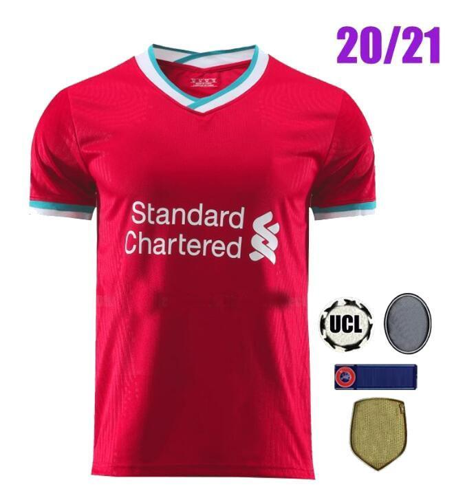 Maillot Football Liverpool Taille L Domicile 2020 2021