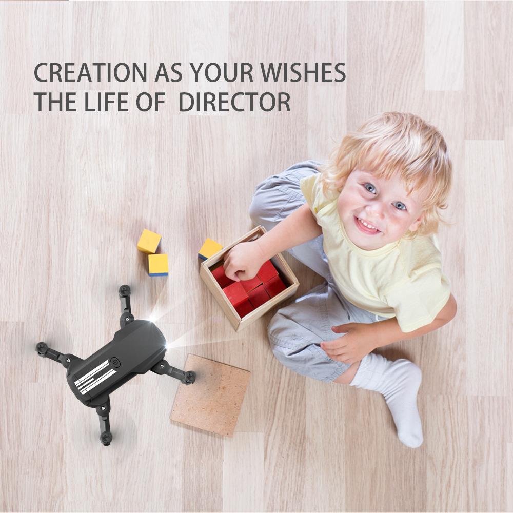 Remote control Folding drone RC Mini aerial drone with 4K HD camera pixel Remote control plane Birthday gift