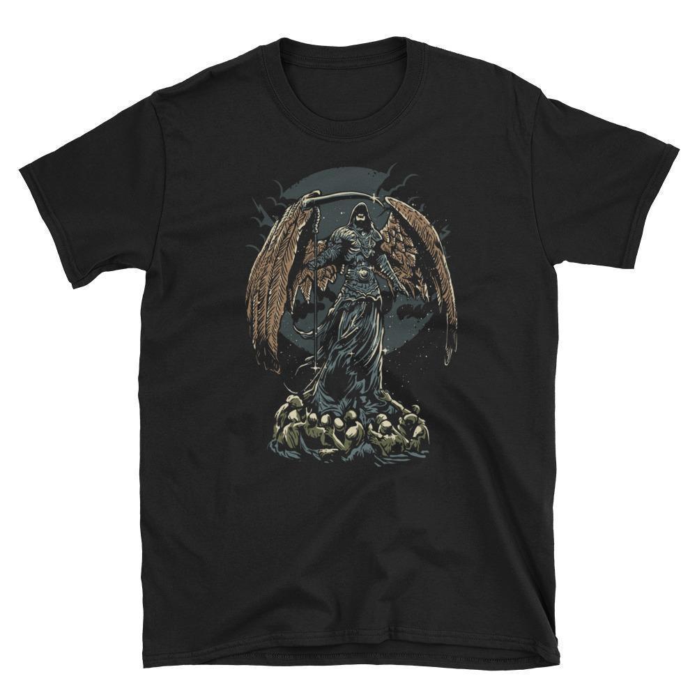 2019 neue Mens-T-Shirts Dunkelheit Gothic Fantasy Horror Kunst T-Shirt aus 100% Baumwolle Brand New T-Shirts