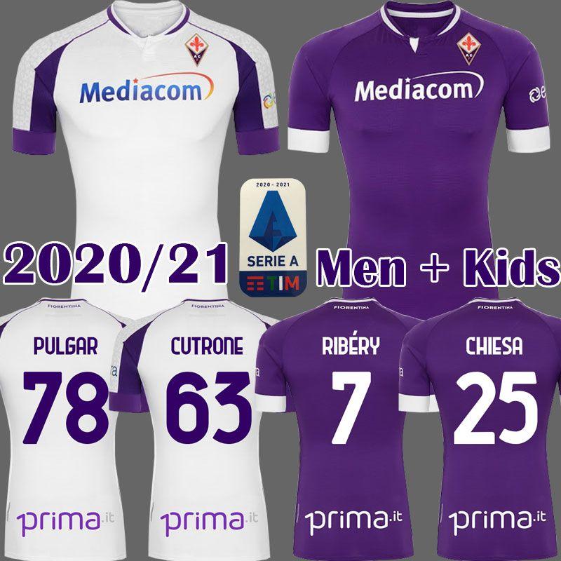 2020 2021 FIORENTINA calcio maglie RIBERY SIMEONE PRINCE Pezzella CHIESA 20 21 Fiorentina Football Shirts VLAHOVIC maillot de foot