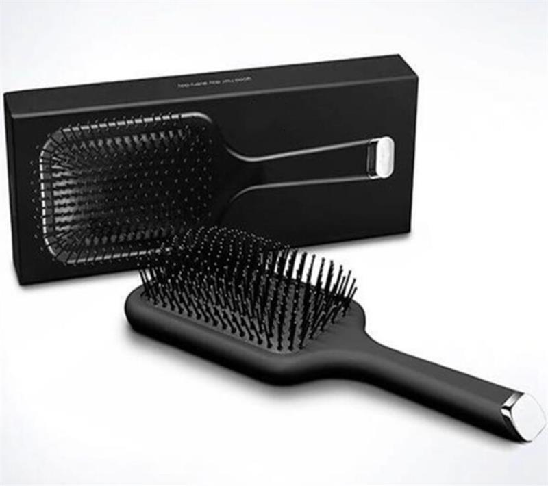 9HD Glide Paddle Щетка для волос на воздушной подушке Comb Марка расческа Щетка для волос Выпрямитель Утюг с розничной коробки