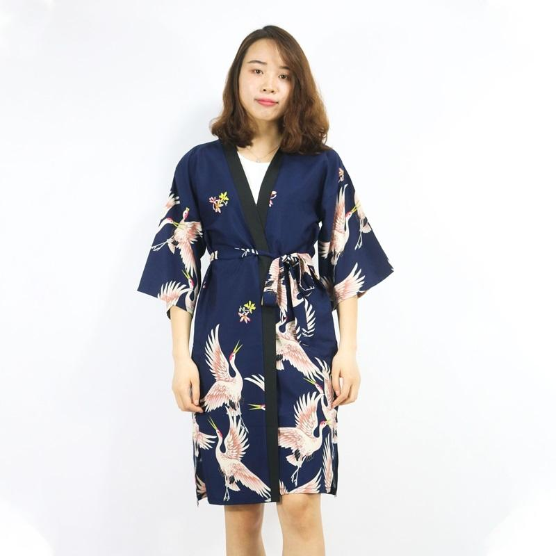 Japanese kimono yukata kimono cardigan fashion blouse women 2020 long sleeve cardigan haori traditional kimonos dress FZ012