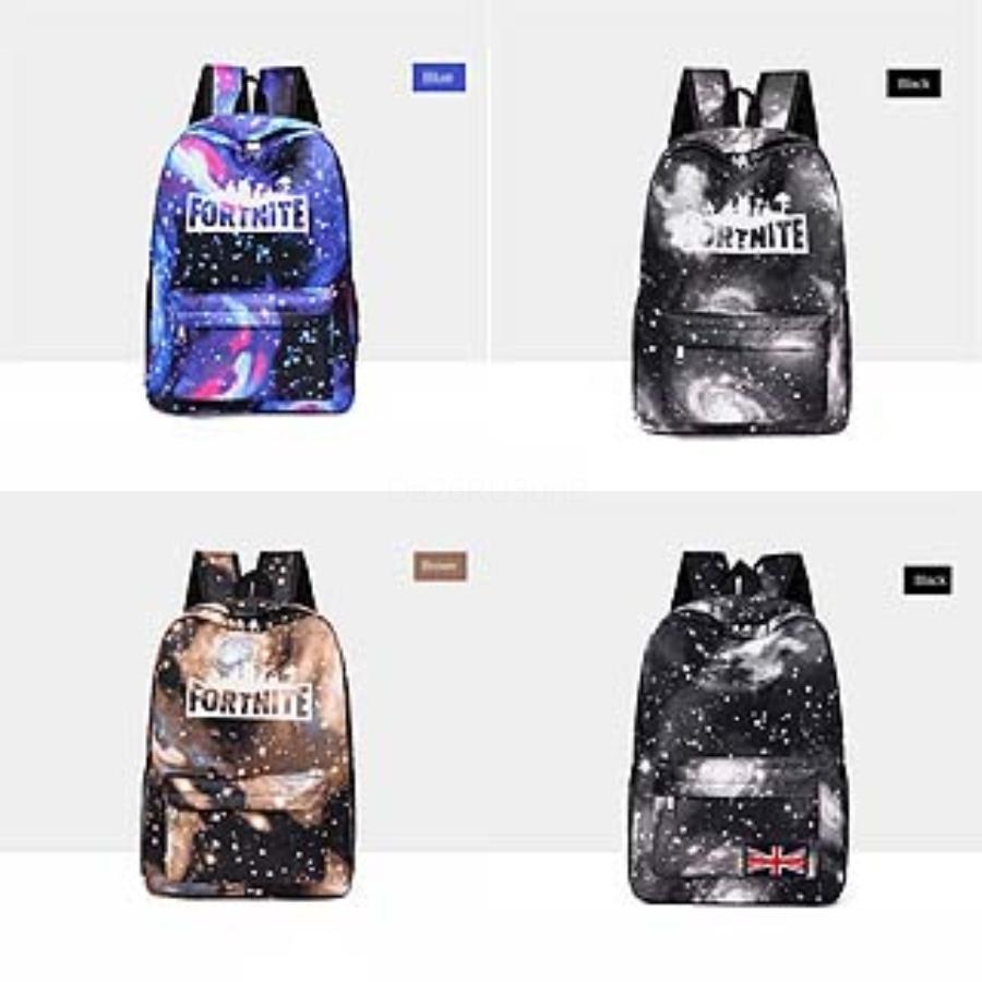 El cielo estrellado Fortnite Diseñador designer- nuevo de la venta Fortnite cielo estrellado Fortaleza Noche Mochila Moda bolsas de viaje Mujeres School Student # 430
