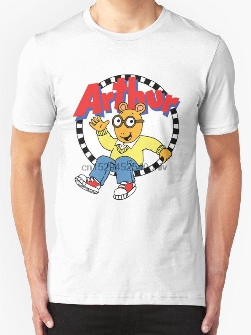 Camiseta ropa más el tamaño de la máquina de impresión de la corto-manga de Arthur para hombre de la camiseta = camisetas para los hombres