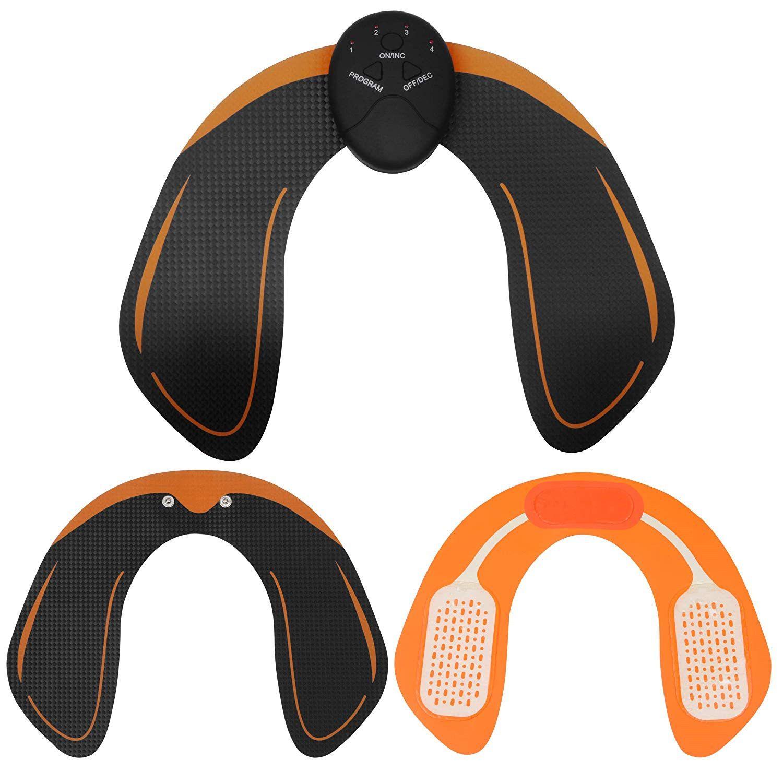 KDJ Kalçalar / Kalça Trainer ABS Stimülatör Kas Toner 6 Modları 10 tonusunu Akıllı Fitness Eğitim Dişli Home Office Egzersiz Ekipmanları Makina
