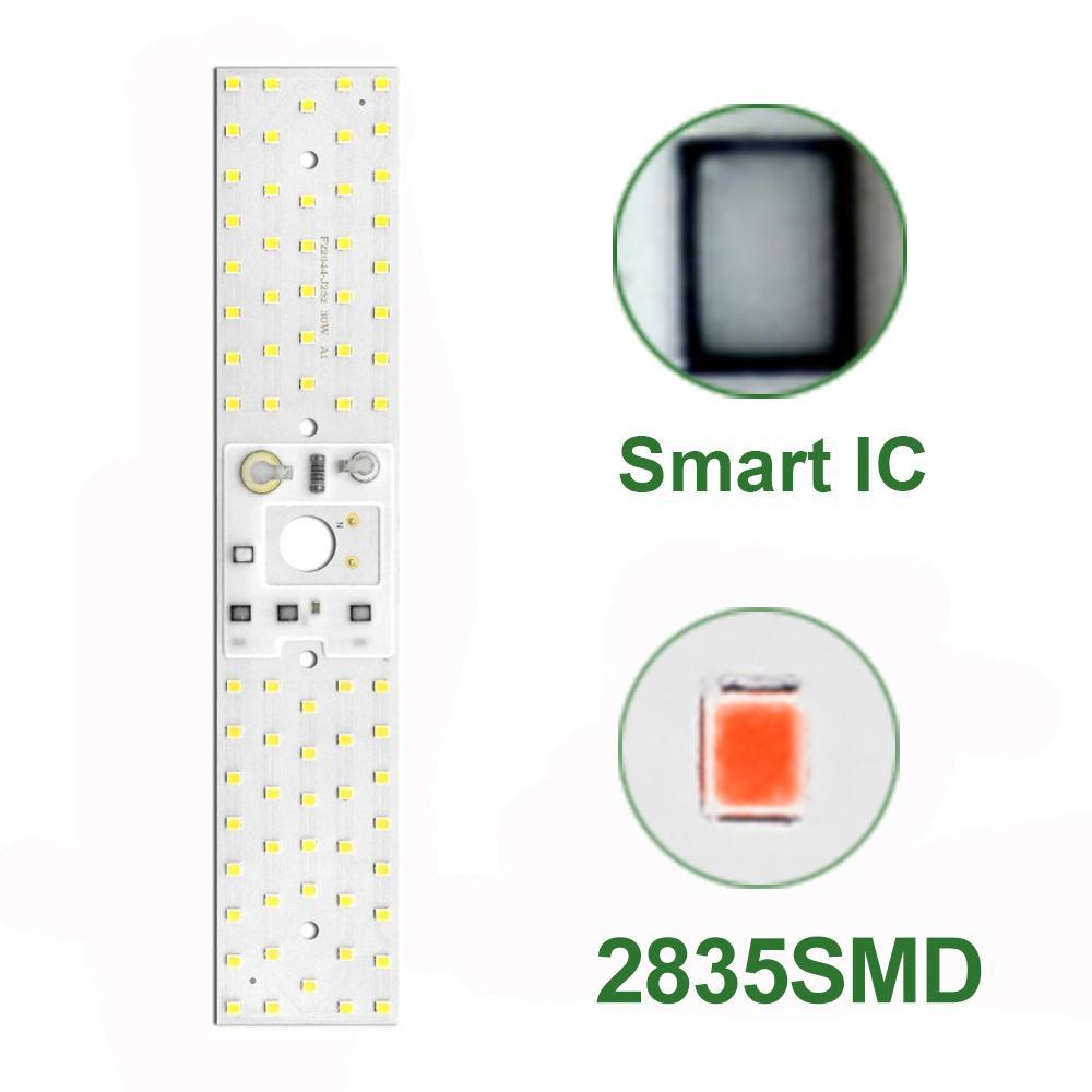 مصباح النمو 30W 50W LED SMD CHIP البيضاء الطيف الكامل حبات الضوء لديي مصباح الإضاءة في المناطق الحضرية زراعة في الأماكن المغلقة