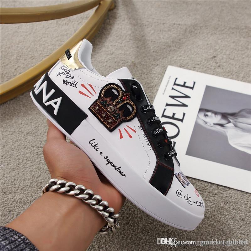portofino sneakers in printed nappa calfskin