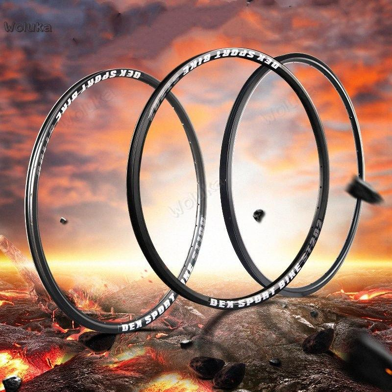 Mountain bike aluminum alloy bicycle rim 26 inch wheel hub front and rear rim 24 28 32 36 hole durable high strength CD50 Q02 PWt7#