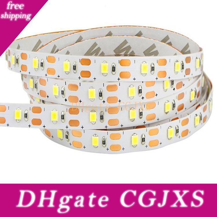 Led Light Strip 2835smd 1m 60leds flexível levou faixa de corda impermeáveis luzes Light Strip 5v Dance Party Para Dc