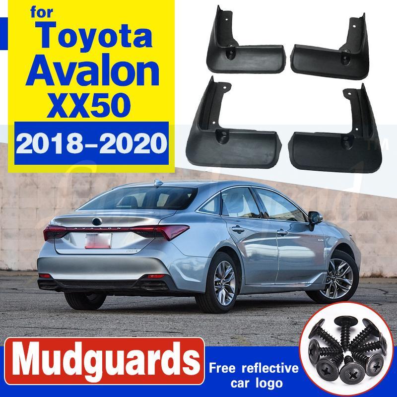 Für Toyota Avalon XX50 2019 2020 Vorne Hinten Set Auto-Schmutzfänger Schmutzfänger Spritzschutz Kotflügel Fender Schmutzige Guards