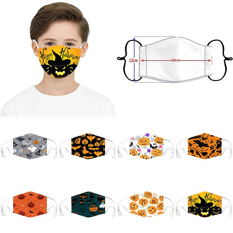 Máscaras de Halloween Kid Cara fiesta de Halloween Decoración prueba de polvo y anti-niebla Mask Kid polvo puede insertarse XD23873 Filtrar